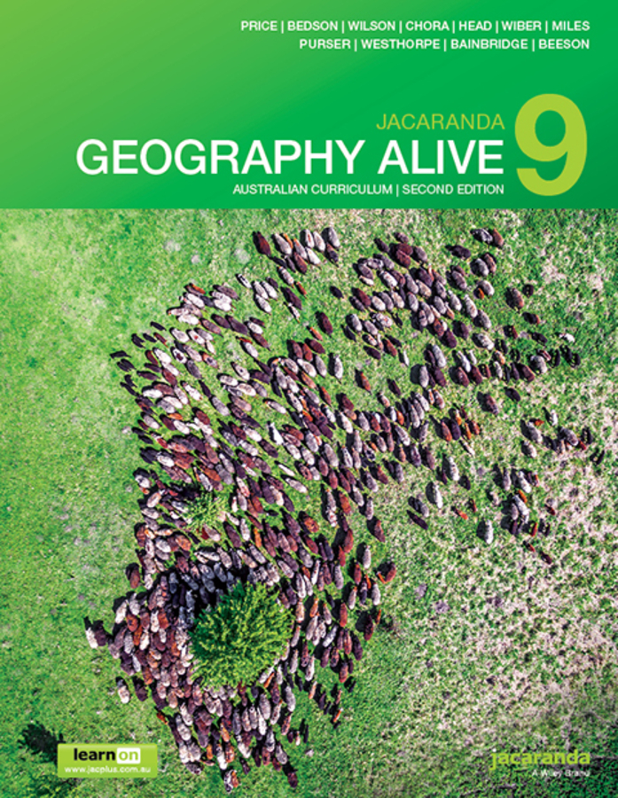 Jacaranda Geography Alive 9 Australian Curriculum 2e learnON & Print