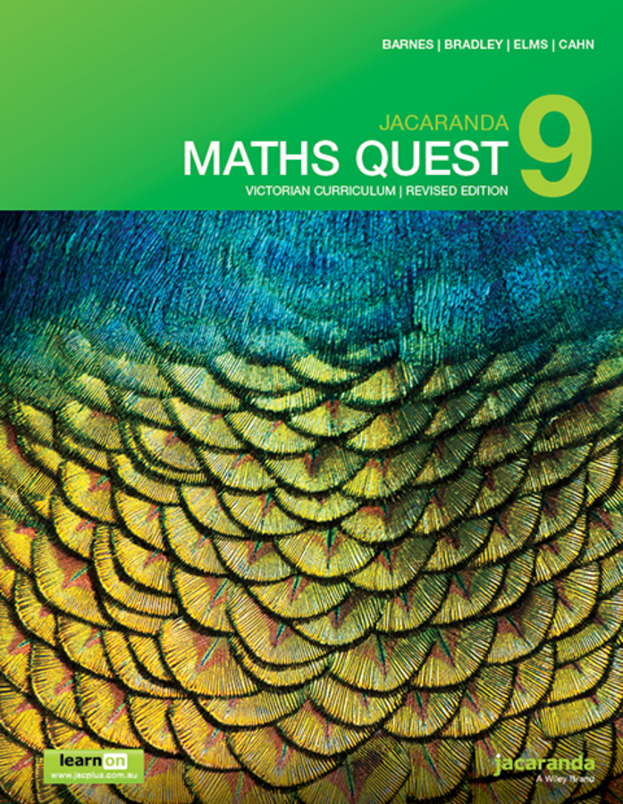 Jacaranda Maths Quest 9 Victorian Curriculum 1st Revised Edition learnON & Print