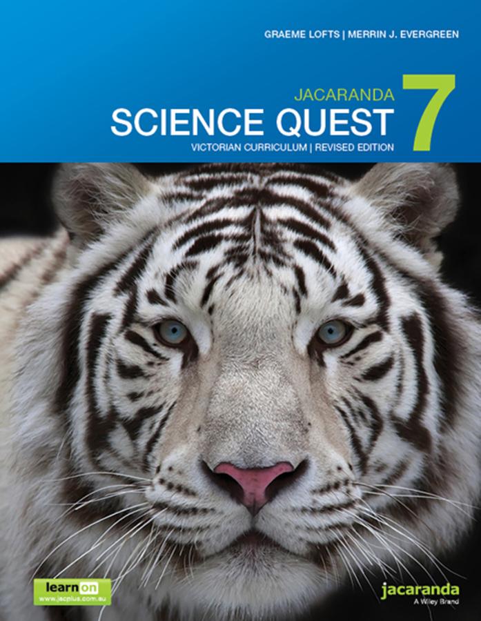 Jacaranda Science Quest 7 for Victoria Australian Curriculum 1e (revised) learnON & print