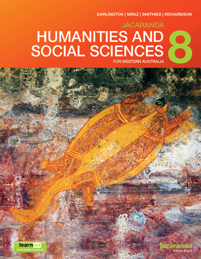 Jacaranda Humanities and Social Sciences 8 for Western Australia LearnON & Print