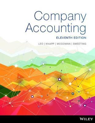 Company Accounting, 11th Edition