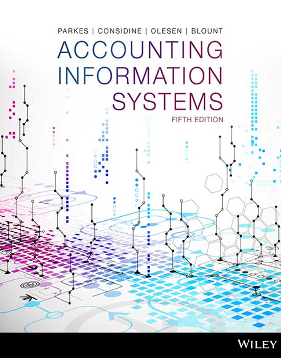 ACCOUNTING INFORMATION SYSTEMS 5E PRINT ON DEMAND (BLACK & WHITE)