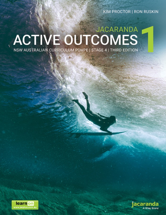 Jacaranda Active Outcomes 1 3e NSW Ac Personal Development, Health and Physical Education Stage 4 LO & print