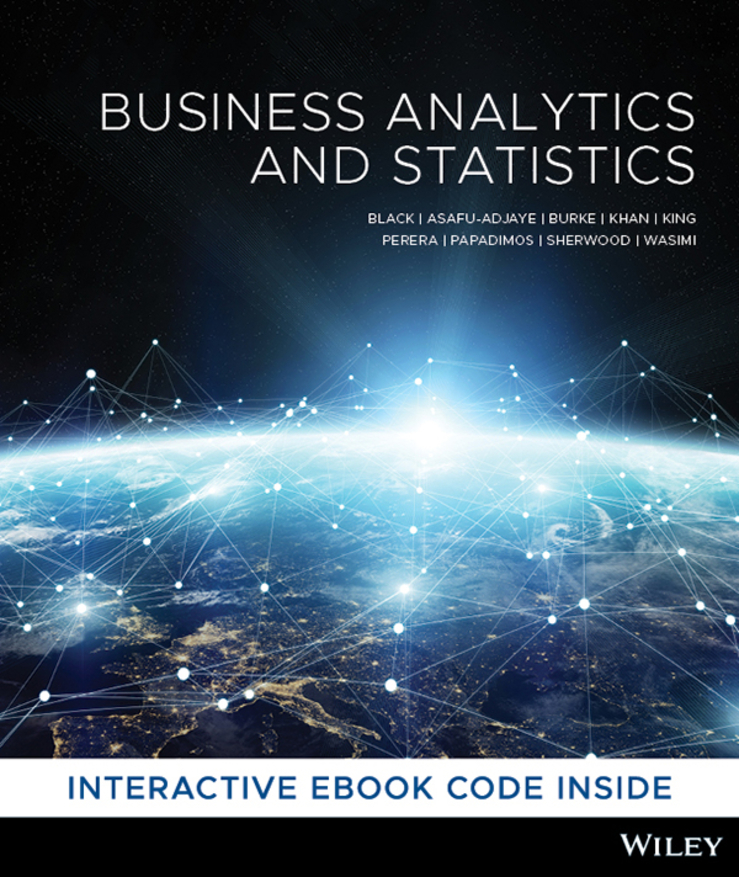 Business Analytics and Statistics