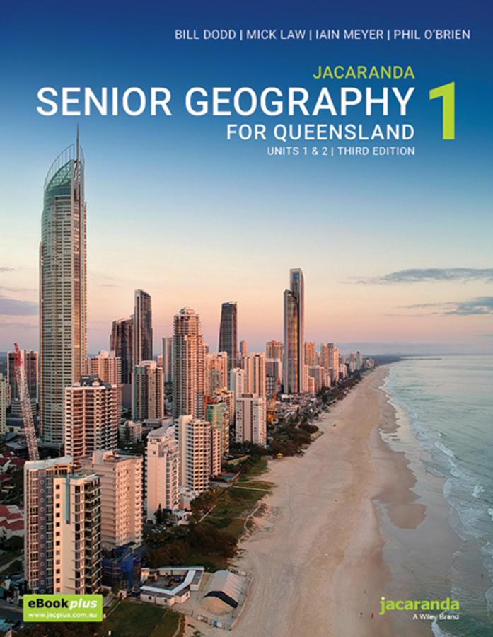 Jacaranda Senior Geography 1 for Queensland Units 1&2 3E eBookPLUS + print