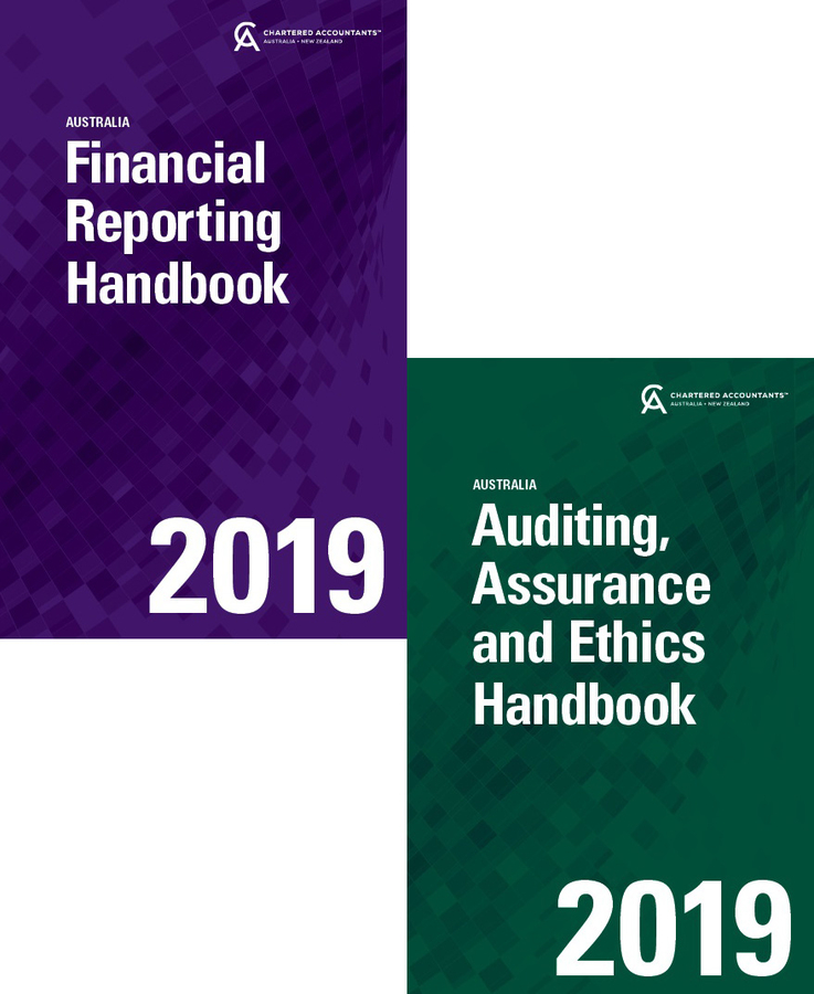 Financial Reporting Handbook 2019 Australia + Auditing, Assurance and Ethics Handbook 2019 Australia