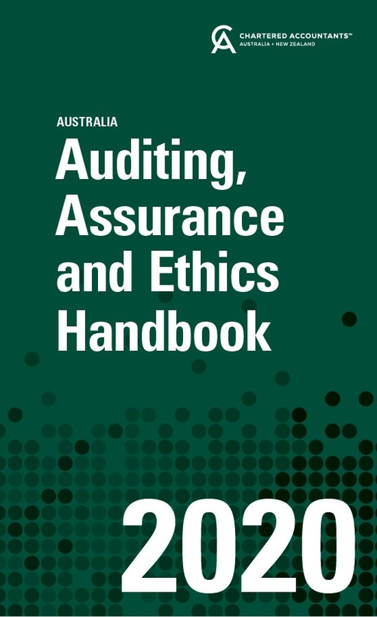 Auditing, Assurance and Ethics Handbook 2020 Australia