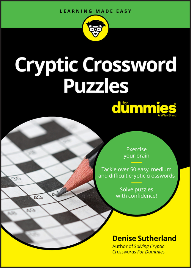 Cryptic Crossword Puzzles For Dummies
