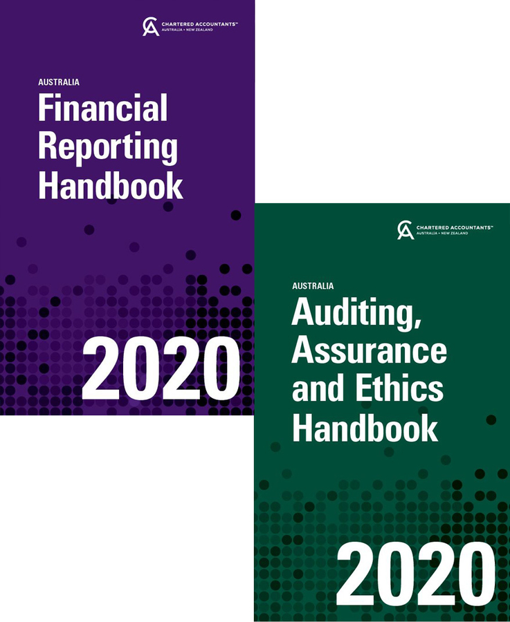 Financial Reporting Handbook 2020 Australia + Auditing, Assurance, and Ethics Handbook 2020 Australia