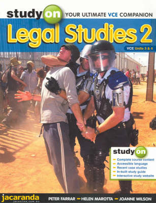 Study on Legal Studies 2: VCE Units 3 and 4