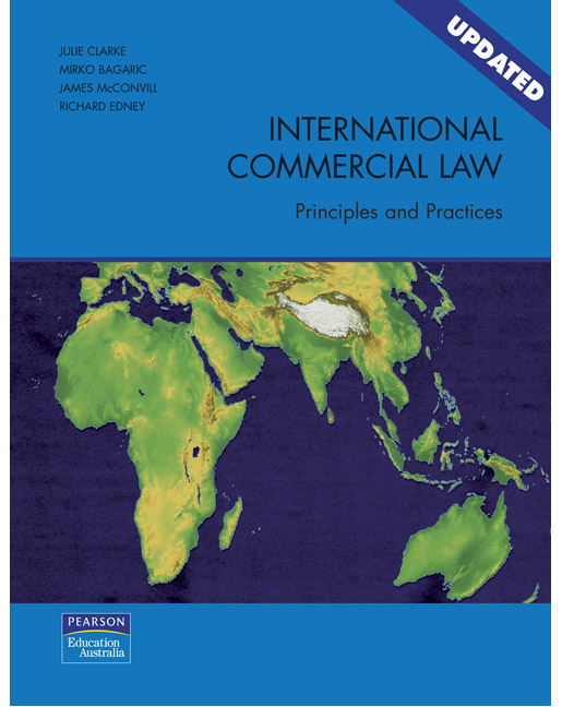 International Commercial Law: Principles and practices (Pearson Original Edition)