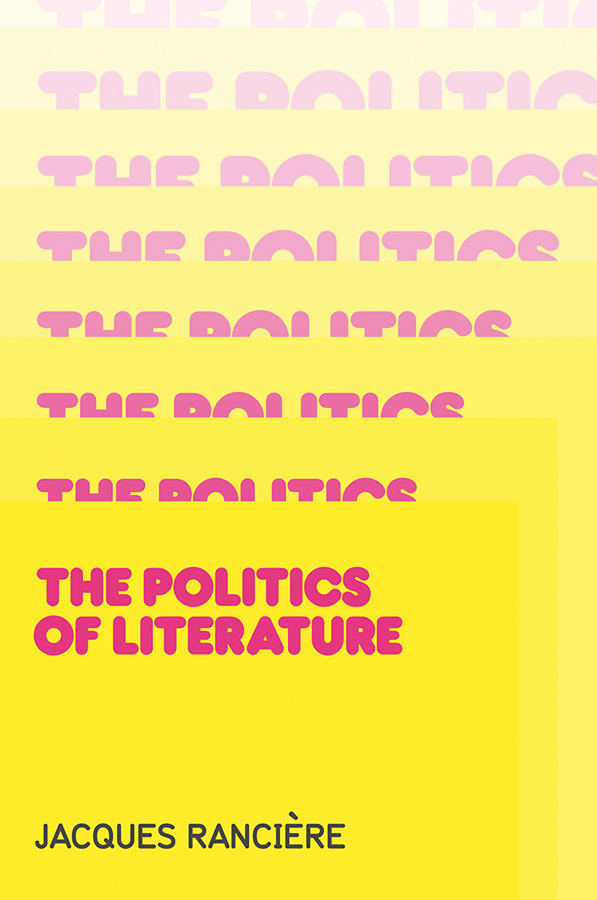 Politics of Literature