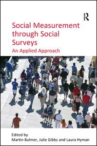 Social Measurement through Social Surveys