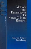 Methods and Data Analysis for Cross-Cultural Research