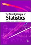 SAGE Dictionary of Statistics: A Practical Resource for Students in the Social Sciences
