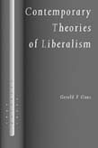 Contemporary Theories of Liberalism: Public Reason as a Post-Enlightenment Project