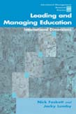 Leading and Managing Education: International Dimensions