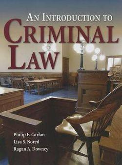 An Introduction To Criminal Law
