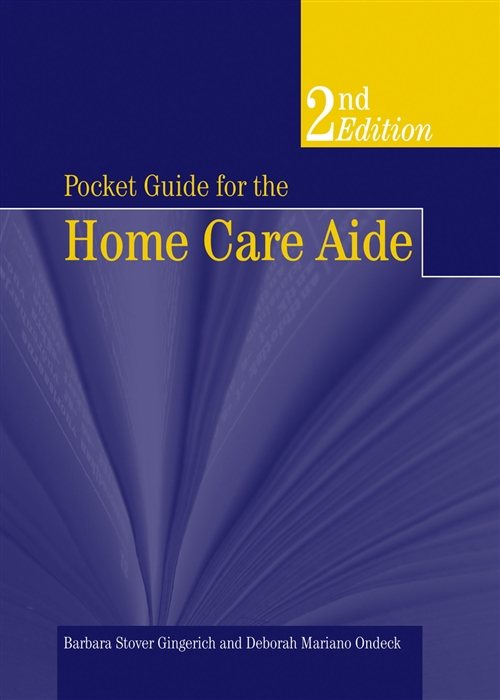 Pocket Guide For The Home Care Aide