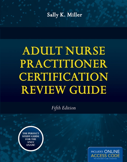 Book Alone: Adult Nurse Practitioner Certification Review Guide