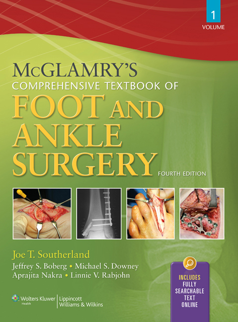 McGlamry's Comprehensive Textbook of Foot and Ankle Surgery Two Volume Set