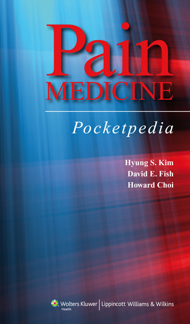 Pain Management Pocketpedia