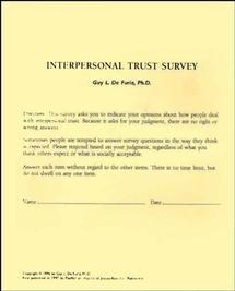 Interpersonal Trust Surveys
