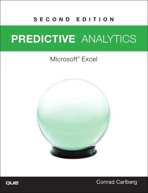 Predictive Analytics: Microsoft Excel 2016