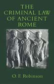 Criminal Law of Ancient Rome (POD)