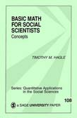 Basic Math for Social Scientists: Concepts