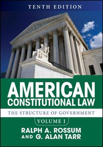 American Constitutional Law, Volume I