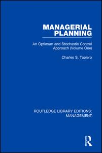 Managerial Planning