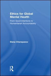 Ethics for Global Mental Health