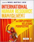 International Human Resource Management: An Employment Relations Perspective