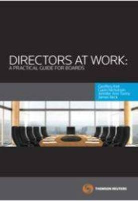 Directors at Work: A Practical Guide For