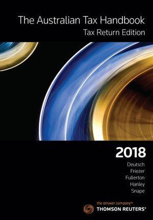 Aust Tax Handbook Tax Return Ed 2018