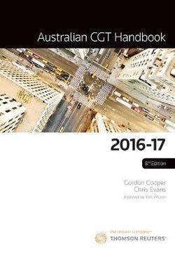 Australian CGT Handbook: 2016-17