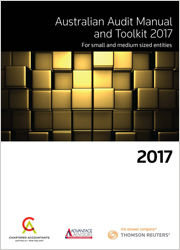 Australian Audit Manual and Toolkit for Small and Medium Sized Entities 2017