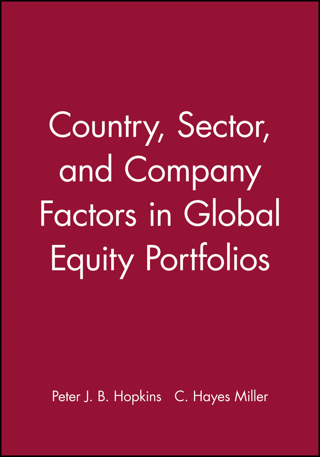 Country, Sector, and Company Factors in Global Equity Portfolios