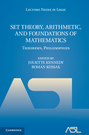 Set Theory, Arithmetic, and Foundations of Mathematics