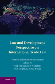 Law and Development Perspective on International Trade Law