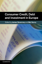 Consumer Credit, Debt and Investment in Europe