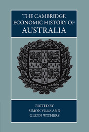The Cambridge Economic History of Australia