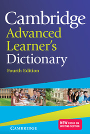 Cambridge Advanced Learner's Dictionary