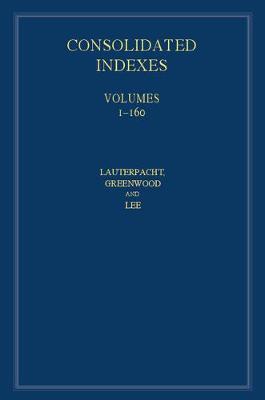 International Law Reports, Consolidated Index 3 Volume Hardback Set