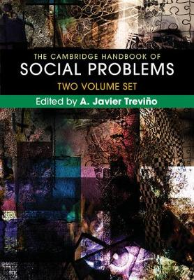 The Cambridge Handbook of Social Problems 2 Volume Hardback Set