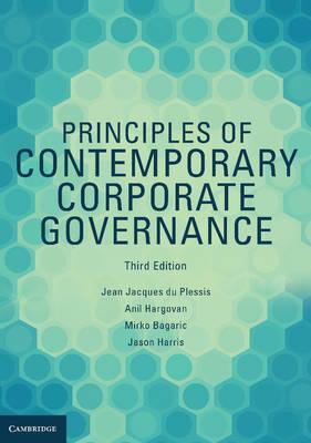 Principles of Contemporary Corporate Governance 3E