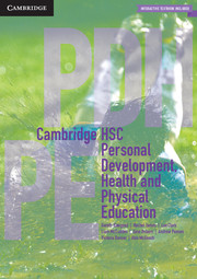 HSC Personal Development, Health and Physical Education