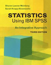 Statistics Using IBM SPSS