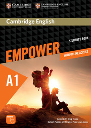 Cambridge English Empower Starter Student's Book with Online Assessment and Practice, and Online Workbook